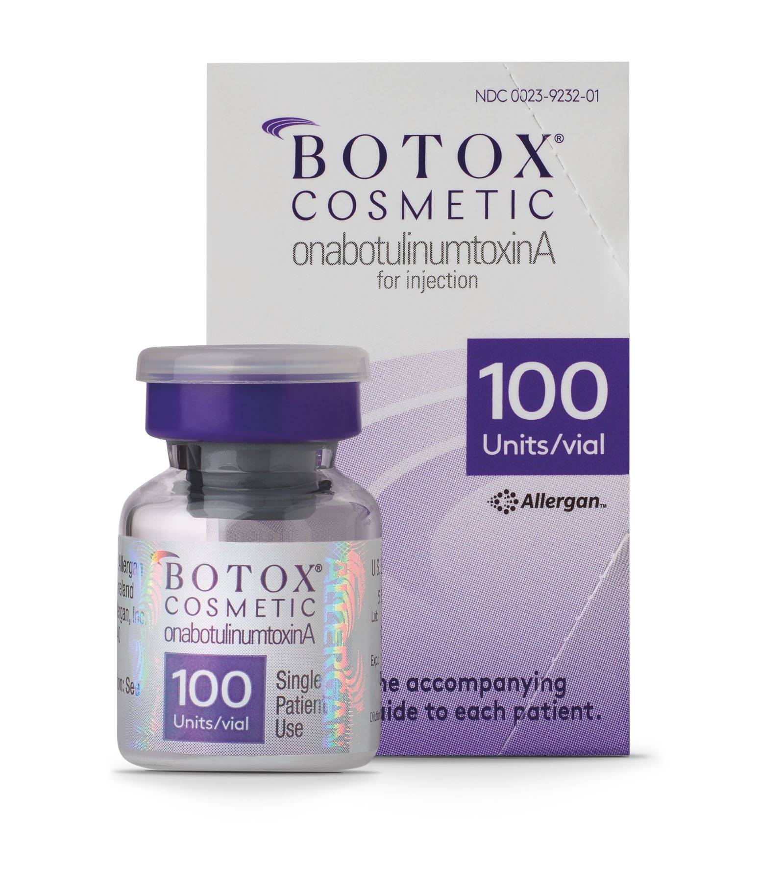 BOTOX Cosmetic Vial and Packaging Image
