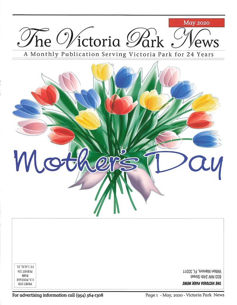 Victoria Park Newsletter - May 2020 Cover